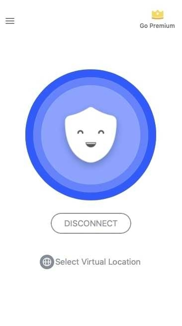 Betternet Disconnect