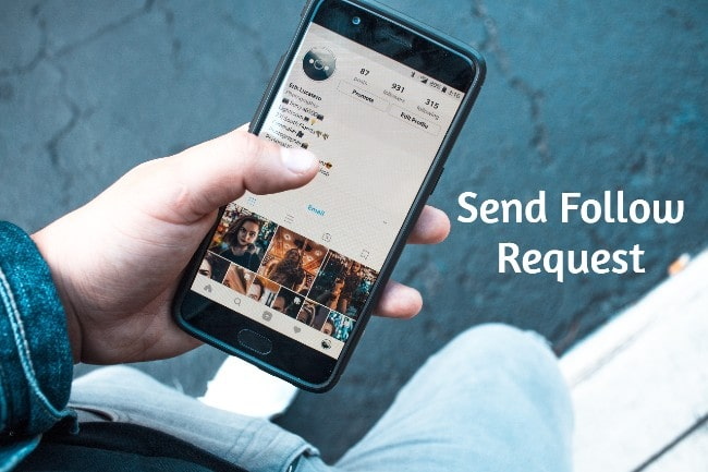 Send follow request