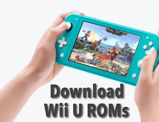 Wii U ROMs for Cemu