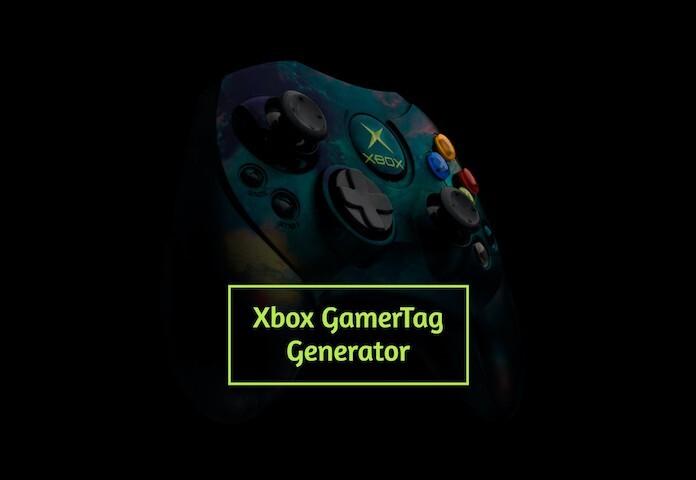 Xbox Gamertag Generator 2020