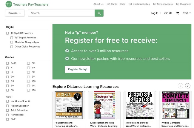TeachersPayTeachers.com