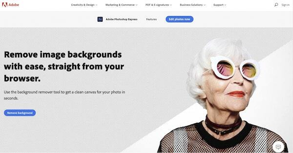 Adobe background remover