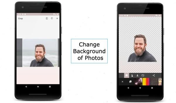 Change Background of Photos