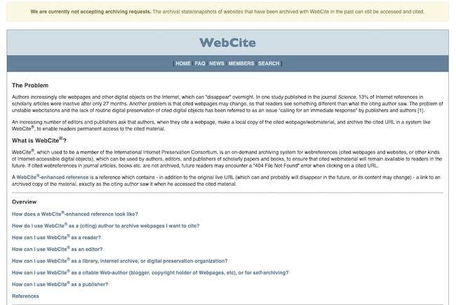 Webcitation
