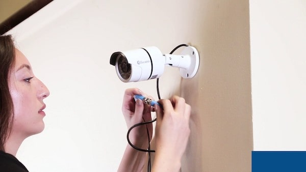 wired camera mount