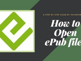 How to open epub files