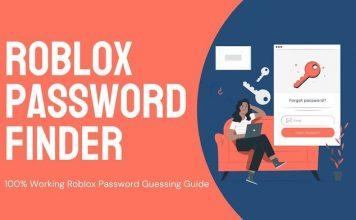Roblox Password Finder